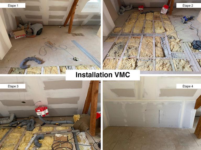 Installation VMC